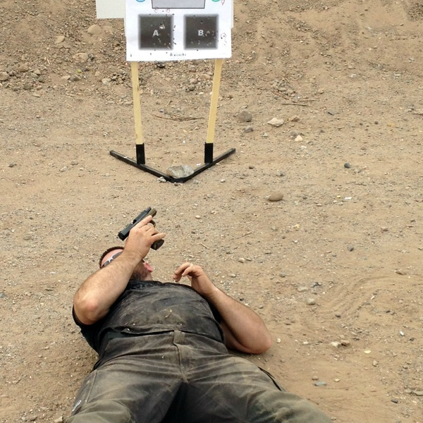 Advanced defensive handgun