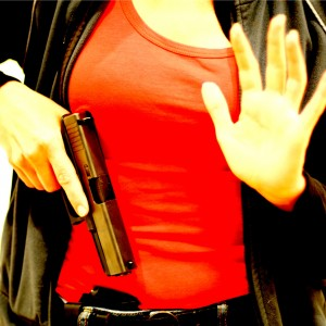 Concealed Carry Woman