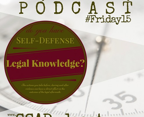 Self-Defense Legal Skills