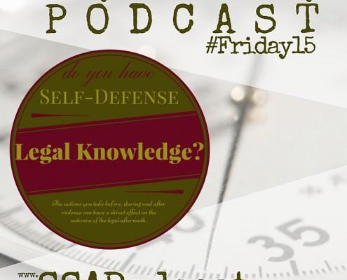 Self-Defense Legal Skills