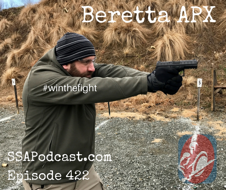 APX Berettas new striker fired gun